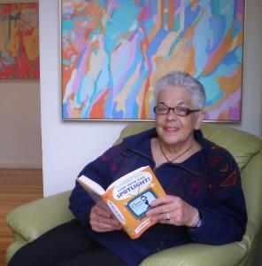 Artist, Helen Bassett, in Australia