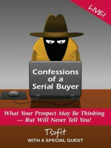 Confessions of a Serial Buyer Cover