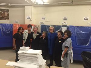 Hillary in Las Vegas Laundry Room